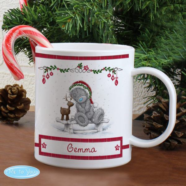 Me To You Reindeer Plastic Mug