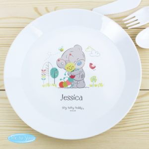 Tiny Tatty Teddy Cuddle Bug Plastic Plate