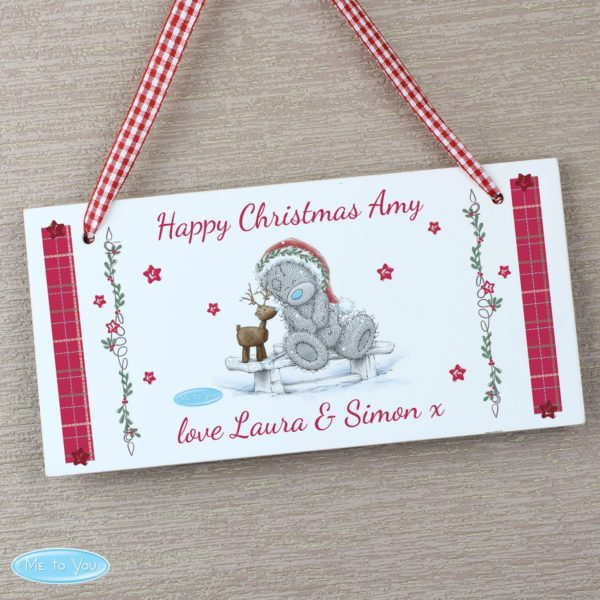 Me To You Reindeer Wooden Sign