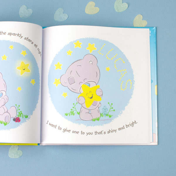 Personalised Tiny Tatty Teddy I Love You Daddy Book