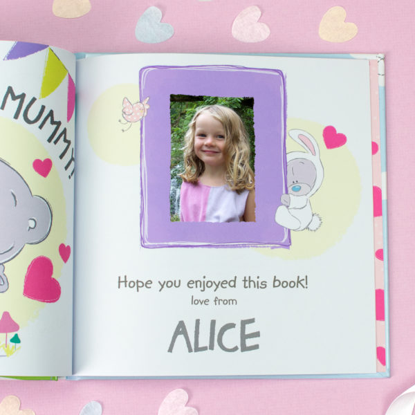 Personalised Tiny Tatty Teddy I Love You Mummy Book